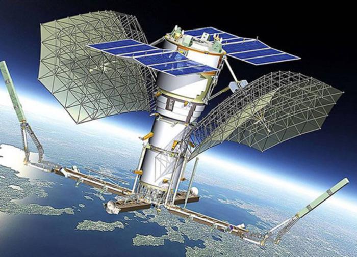 Военный Спутник радиотехнической разведки