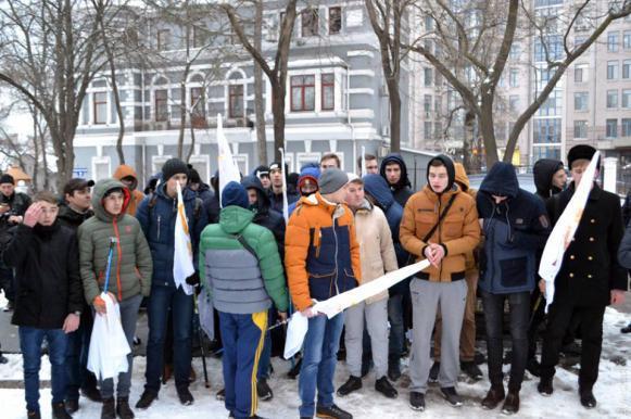 """""""Сомнительное мероприятие"""": в Одессе подростки задержаны за 23 февраля. Сомнительное мероприятие: в Одессе подростки задержаны за 23 ф"""