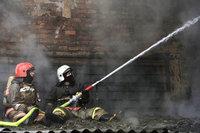 В Азове загорелась крыша молокозавода. 239703.jpeg