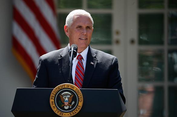 Вице-президент США: Трамп подпишет новый пакет санкций против России. Вице-президент США: Трамп подпишет новый пакет санкций против Ро