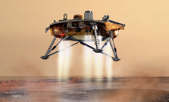 Марсоход Curiosity нашел на планете метан. Марсоход Curiosity обнаружил метан на планете