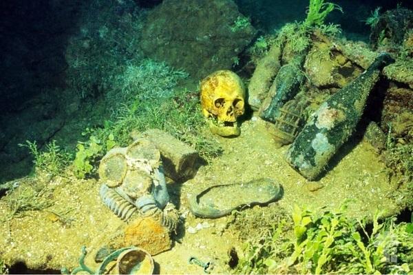 Пять самых жутких мест на планете. Лагуна Трук (острова Микронезии, Тихий океан)