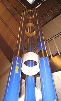 Надувная башня 15-километровой высоты
