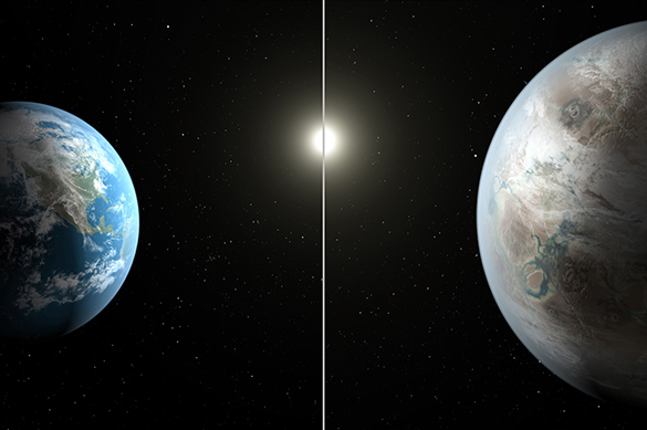 Kepler 452, Земля, планета, космос