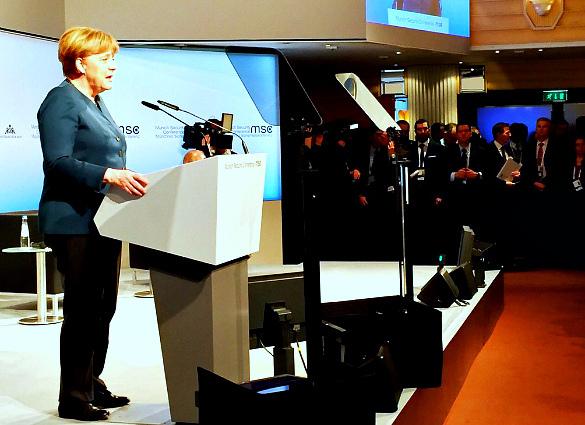 Мыедины сРоссией вборьбе смеждународным терроризмом— Меркель