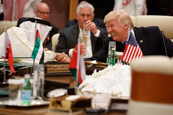 Безумный саудовский роман Америки