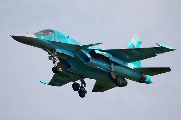 Бомбардировщики Су-34 прорвались к Воронежу несмотря на С-300.