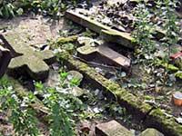 Пьяный подросток разгромил деревенское кладбище