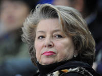 Татьяна Тарасова попала в аварию под Москвой. Tarasova