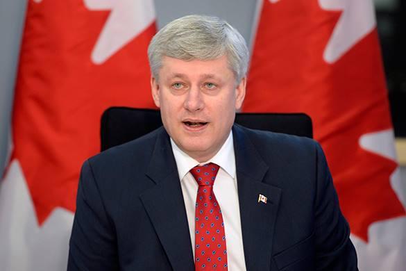 La Presse призвала премьера Канады убраться с Украины. Стивена Харпера призвали убраться с Украины