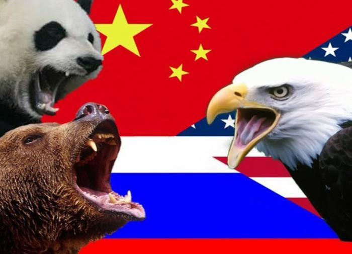Россия, Китай, США