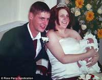 Женщина вышла замуж через два часа после родов