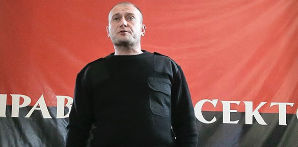 У Порошенко пригрозили Ярошу арестом. ярош дмитрий правый сектор