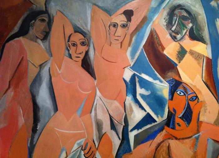 Пабло Пикассо Авиньонские девицы
