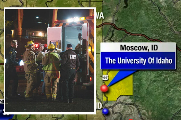 В центре Москвы упала и взорвалась экспериментальная ракета