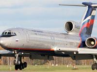 Ту-154 со 156 пассажирами на борту совершил аварийную посадку
