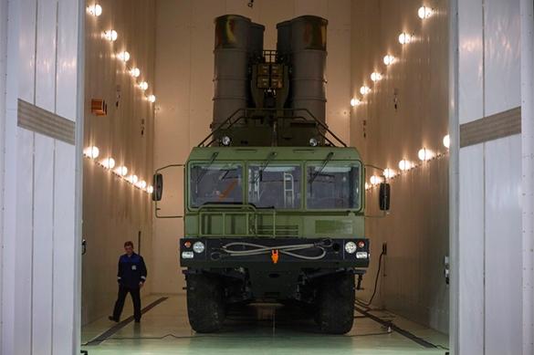 Новый С-400 поступил в ВКС России