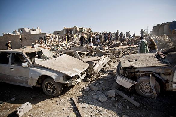 Специалист-международник: События в Йемене - это начало большой арабской войны. авиаудары, Йемен, война