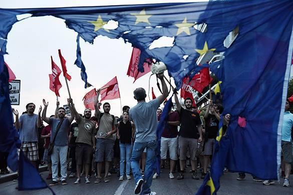 В Греции, народ