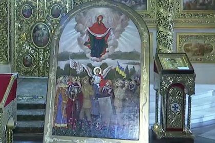 Украинцы увековечили на иконе воинов УПА. Украинцы увековечили на иконе воинов УПА
