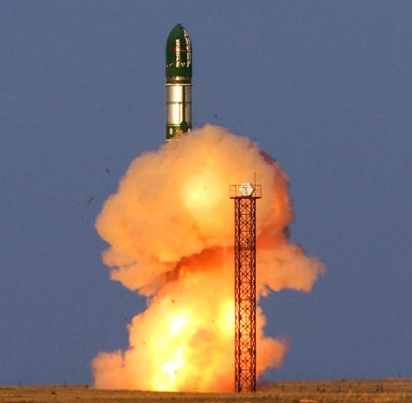 СМИ: Россия успешно испытала новую баллистическую ракету