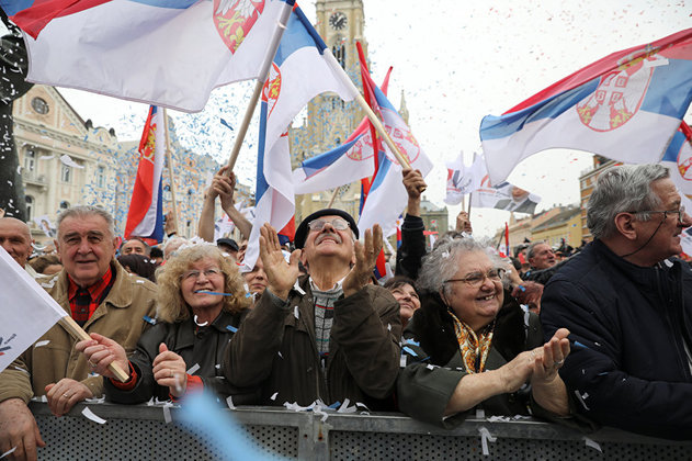 Александр Вучич становится президентом Сербии