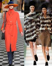 Главные тенденции верхней одежды сезона осень – зима 2008-2009