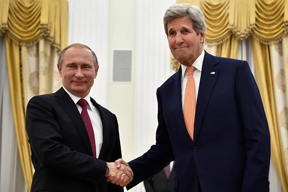Путин и Керри договорились по Сирии и Украине