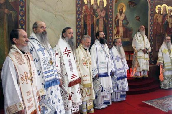 Сербская православная церковь не признала