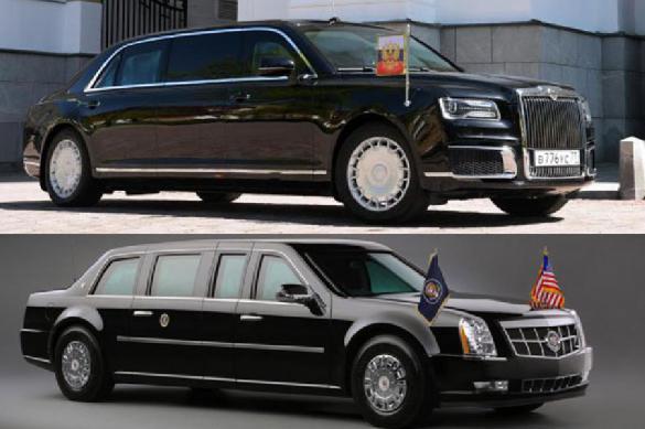 Померялись авто? Как отозвались СМИ о машинах Путина и Трампа. 389732.jpeg