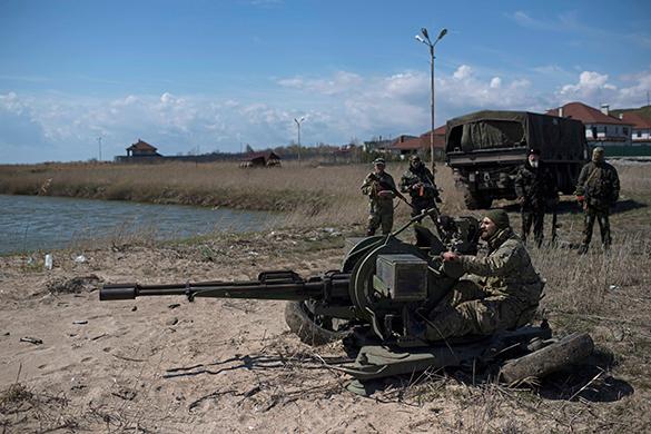 """Днепропетровцев заставят жертвовать на карательную операцию ударами """"Точкой У"""". армия, украина, солдаты, оружие, пушка"""