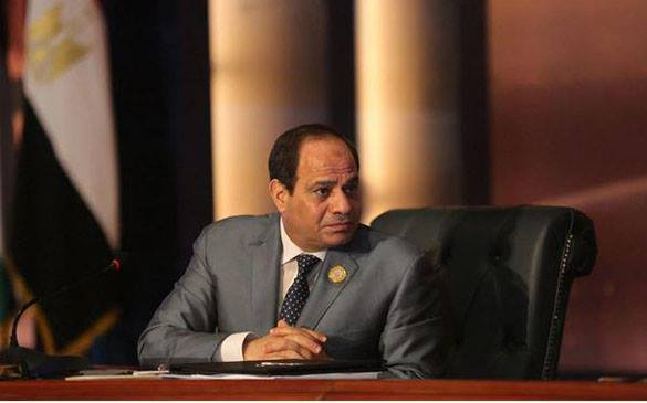 президент Египта Абдул-Фаттах Халил Ас-Сиси