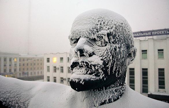 Москве обещают тридцатиградусные морозы. мороз, зима