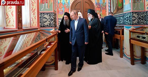 Визит Путина в Грецию стал знамением для Ближнего Востока