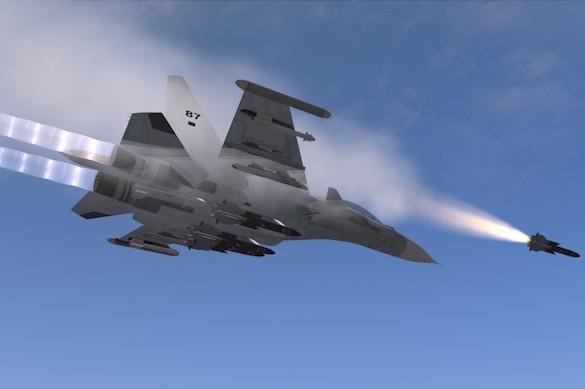 Над черным морем  Су-30СМ сбил крылатую ракету. 374734.jpeg