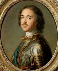 Царь- Фасцинус Петр Великий
