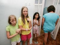 В Севастополе закрыт лагерь, где отравились дети. deti