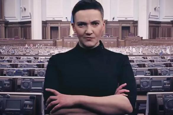 "Савченко ""взорвала"" Раду и поиздевалась над депутатами. Видео. Савченко взорвала Раду и поиздевалась над депутатами. Видео"