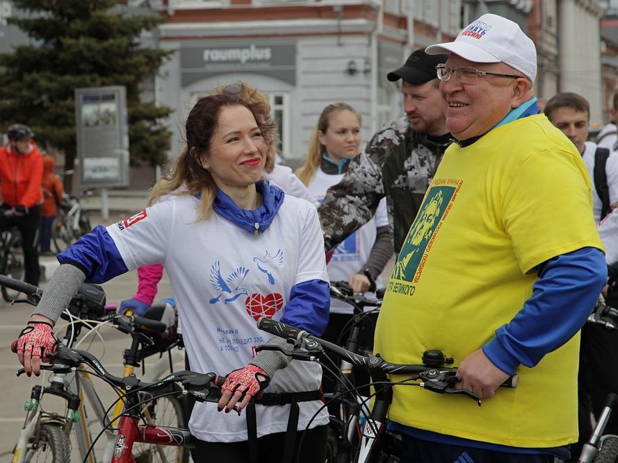 """Свыше тысячи нижегородских велосипедистов проехали """"Дорогой Мини"""
