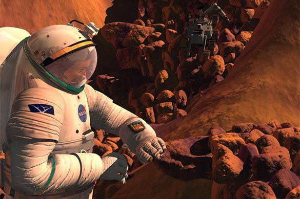 Извержения наСолнце электризуют спутники Марса
