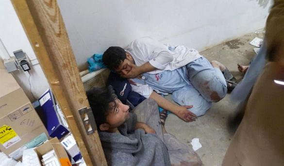 авиаудар по больнице в Афганистане