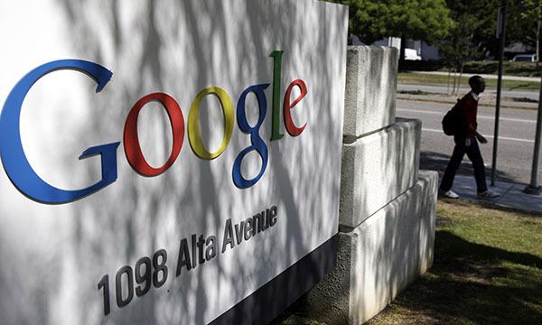 Россия увеличивает налоги для Google. Логотип Google