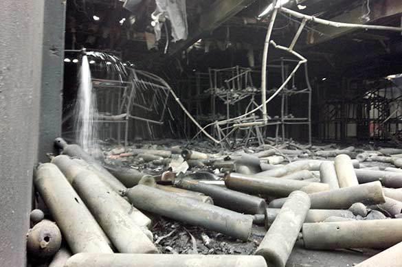 Взрыв на военной базе США