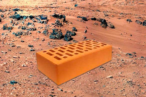НаМарсе можно будет строить изместных материалов