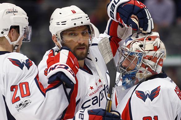 Овечкин забил американца в массовой драке на матче НХЛ. ВИДЕО
