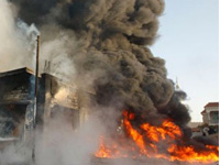 Террористы атаковали полицейский блокпост на западе Ирака