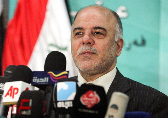 Прмьер Ирака Haidar al-Abadi
