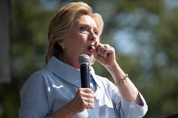 Хиллари Клинтон испугала сторонников кашлем астматика