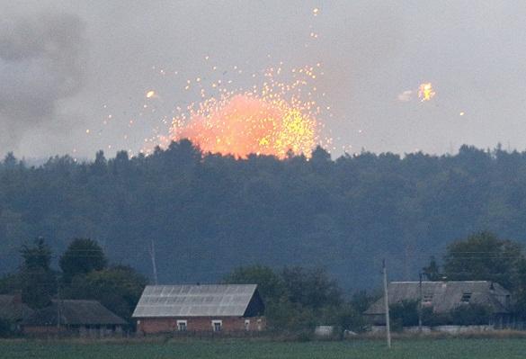 Под Винницей  на военном арсенале продолжаются одиночные взрывы. 376747.jpeg