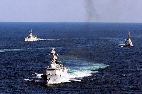 У берегов США стоит флот Китая